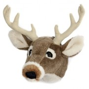 Carstens Plush White Tail Deer Trophy Head, Large