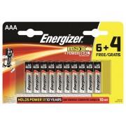 ENERGIZER baterija Maximum Lr3 BP 10 6+4 free, AAA