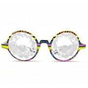 Glo Fx Tribal Kaleidoscope Glasses Clear