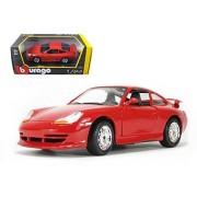 Porsche 911 (996) GT3 Red 1/24 Model Car by Bburago