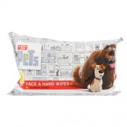 Universal The Secret Life Of Pets Face & Hand Wipes Kinderkosmetik Unisex für alle Hauttypen