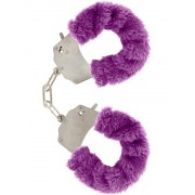Toy Joy: Furry Fun Cuffs Plush, lila