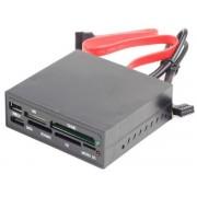 Gembird USB 2.0 interni čitač memorijskih kartica sa SATA portom (FDI2-ALLIN1S-02-B)