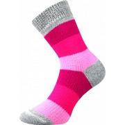 Boma Ponožky Boma růžové (Spací ponožky 01) S