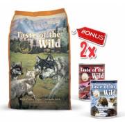 Taste Of The Wild High Prairie Puppy - 13 Kg + 2 Conserve Taste of the Wild GRATIS