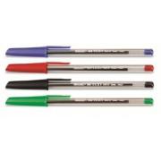 Pix fara mecanism Fibracolor Hi-Text 660, corp plastic, transparent, varf 1.0mm, capac in culoarea s