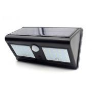 Vezeték nélküli Napelemes 40 LED fali lámpa fény-mozgásérzékelős - Nagy