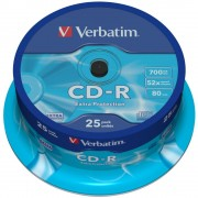 Campana 25 CD-R Extra Protection 700MB