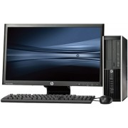HP Pro 6300 SFF - Pentium G840 - 4GB - 500GB HDD + 23'' Widescreen LCD