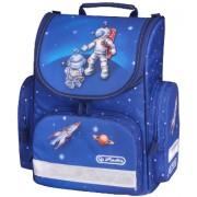 Ghiozdan ergonomic, neechipat, HERLITZ Mini Astronaut