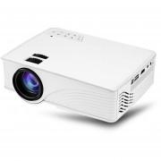 Proyector, GP - 12 LED Proyector 800 X 480 PíXeles-Blanco