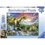 Пъзел Ravensburger 100 елемента, Ерата на динозаврите, 7010665