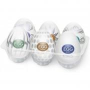 Tenga Egg Huevo Masturbador Hard Boiled 6 Unidades