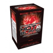 Hot Blood 3.0 BOX 25 tasak (25 x 20g) narancs Scitec Nutrition