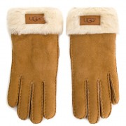 Дамски ръкавици UGG - W Turn Cuff Glove 17369 Chestnut