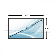 Display Laptop Sony VAIO VPC-EA25FX/BI 14.0 inch 1366x768 WXGA HD LED SLIM