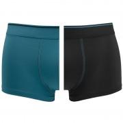 Boxershorts Micro Hipsters 2-pack Blauw & Zwart