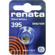 Baterie buton oxid de argint 395, 1,55 V, 55 mAh, Renata