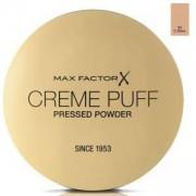 Компактна пудра Max Factor Creme Puff Pressed Powder, Високо покритие, Матиращ ефект, 55 Candle Glow, 21гр., 50884414