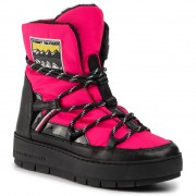 Pantofi TOMMY HILFIGER - City Voyager Snow Boot FW0FW04574 Bright Jewel TZ8