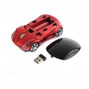1000 DPI Ajustable Coche Inalámbrico Gaming Mouse óptico Para PC + Receptor USB Rojo