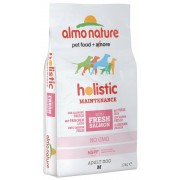 Almo Nature Holistic Adult Medium Salmone Riso Kg 12