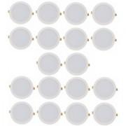 Alpha 6 Watt round Ceiling LED Panel Light (Pack of 10 Lights)