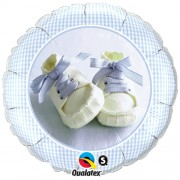 Baby Boy Shoes Foil Balloon