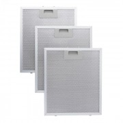 алуминий, филтър за мазнини 26,5 x 31см резервен сменяем филтър