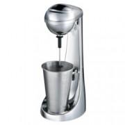 Μашина за фрапе и напитки Singer SDM100CH, Вместимост на мензура 0.450л, Защитен бутон, Нехлъзгаща се основа, 100W, сребриста
