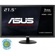 "Asus Monitor ASUS 21.5"" Wide 1920x1080 FHD 1ms HDMI/D-SUB/COLUNAS-VP228HE"