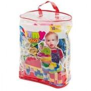 Clemmy Plus Bag of 60 Soft Building Blocks