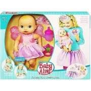 Baby Alive Fantasy Fairy Dress Up Set With Toy Doll By Hasbro