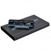 """XMAX külső merevlemez ház védőtokkal 2,5"""" HDD - USB 3.0, fekete"""