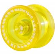 Yoyo Profesional (Tipo Transparente) MAGICYOYO K1 Spin ABS - Amarillo