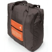 ShopAis Happy Flight Folding Waterproof Multipurpose Travel Bag(Orange)