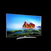 "LG 60SJ810V LED TV 60"" Super Ultra HD, WebOS 3.5 SMART, T2, Silver, Crescent stand"