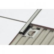 Schluter Deco e tegelprofiel 12,5 mm 250cm RVS v2a rvs e125d