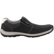 Rieker Promenadskor 15260-01 svart