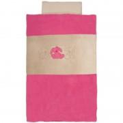Lenjerie pentru patut Lapidou Pink Nattou