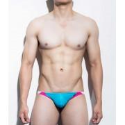 Mategear Kal Yong Mini Bulge Bikini Swimwear Deep Sky Blue 1081203