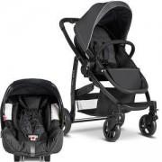 Детска количка със столче за кола, Evo Charcoal, Graco, 9431820539