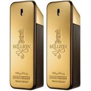 Kit Paco Rabanne 2 Perfumes Masculino One Million EDT 100ml - Masculino