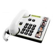 DORO MemoryPlus 319i ph - Téléphone filaire - blanc, gris foncé