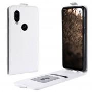 Bolsa Flip Vertical para Motorola One Vision - Branco