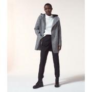 Etam Manteau à capuche - PAULA - 34 - Noir - Femme - Etam