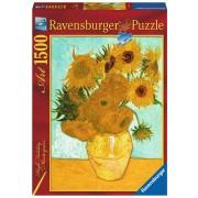 Puzzle Ravensburger - Vincent Van Gogh: The Sunflowers, 1500 piese (16206)