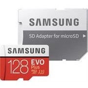 Samsung EVO Plus 128GB Micro SDXC with SD Adapter