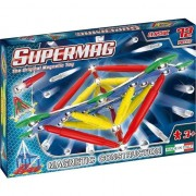 Set de constructie magnetic Supermag - Classic primary, 72 piese
