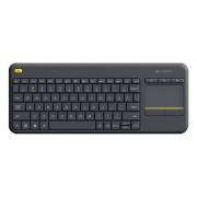 Logitech K400+ Wireless Touch Keyboard Preto